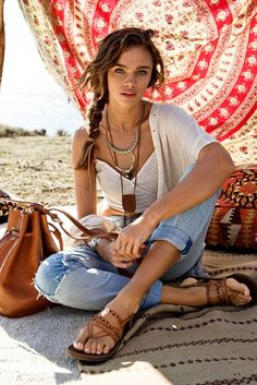 Bohemian Fashion by Luana Gabriella- For me the essential is to never forget…