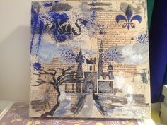 Decoupage, stencils mm