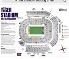 4 LSU vs. South Alabama Football Tickets Lower Bowl With Parking Pass