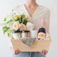 Staycation with Flowers & Rosé Champagne Online Business