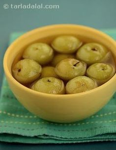 This is an invaluable winter preserve. Amlas (Indian gooseberries) are abundantly available during the winter months. You will find amla trees in several parts of Rajasthan and a large quantity of this fruit is used to make preserves. Whole amlas simmered in a cardamom and saffron flavoured syrup is one of my personal favourites. There are several traditional recipes for making this murabba. Some soak the amlas in alum (phitkari) overnight whilst others sun-dry amlas. I find it easiest to…