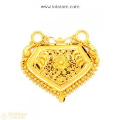 Gold Pendants - View and shop our collection of gold pendants made in India - Indian Gold Jewelry - Buy Online Pendant Jewelry, Gold Jewelry, Jewelery, India Jewelry, Temple Jewellery, Indian Gold Jewellery Design, Jewelry Design, Gold Pendants, Pendant Design