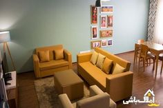 املاک باشی؛ اجاره روزانه خانه در تهران برای مسافرتهای کاری Sofa, Couch, News, Furniture, Home Decor, Settee, Settee, Decoration Home, Room Decor