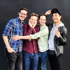 Eugene Lee Yang, Philip Defranco, Try Guys, The Fault In Our Stars, Youtubers, Beautiful People, Men Casual, Fandoms, Couple Photos