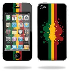 Protective Vinyl Skin Decal Cover for Apple iPhone 4 or iPhone 4S AT or Verizon 16GB 32GB Cell Phone Sticker Skins - Rasta Flag by MightySkins. $6.99. Mightyskins are removable vinyl skins for protecting and customizing your portable devices. They feature ultra high resolution designs, the perfect way to add some style and stand out from the crowd. Mightyskins protect your Apple iPhone 4 with a durable high gloss laminate that protects from scratching, fading ...