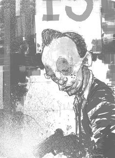 [다크 나이트]의 은행 강도갱들과 조커, 하비 덴트의 컨셉아트  [출처] [다크 나이트]의 은행 강도갱들과 조커, 하비 덴트의 컨셉아트|작성자 사자왕