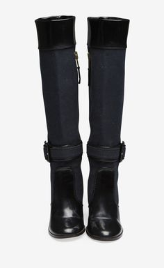 Stella McCartney Black Boot | VAUNTE