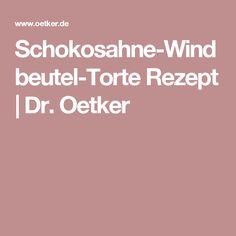 Schokosahne-Windbeutel-Torte Rezept   Dr. Oetker