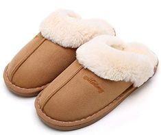 f9e90128b5052 cozy slippers for mom christmas tradition ideas cute fuzzy house slippers  sponsored link. OSHOW Womens Slipper, Fluffy Slip On House Slippers Clog  Soft ...