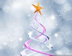 Abstract Christmas Star
