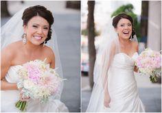 A glowing bride.  Bridal Portrait | Reams Photo | San Diego Wedding Photography