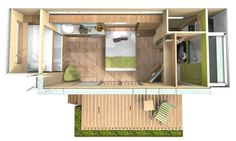 Cúbica® is a company in Costa Rica that has created this shipping container tiny home with rooftop recreational deck. A 20′ shipping container was used to turn it into an amazing 160 sq. ft. …