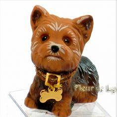 DOG YORKSHIRE MINIATURE 1/6 BARBIE SILKSTONE FASHION ROYALTY BJD LATI YELLOW