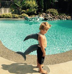 A personal favorite from my Etsy shop https://www.etsy.com/listing/549495487/shark-fin-shark-tail-shark-costume-shark