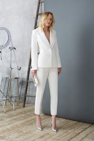 casual outfits for college Suit Fashion, Look Fashion, Fashion Outfits, Woman Outfits, Runway Fashion, Dressy Outfits, White Outfits, Casual Dressy, Couple Outfits