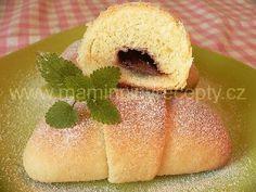 Šlehačkové rohlíčky Hot Dog Buns, Hot Dogs, Nutella, Bread, Cake, Brot, Kuchen, Baking, Breads