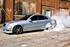 Mercedes-Benz W211 E55 AMG Vossen Wheels   BENZTUNING   MB, Maybach, Smart