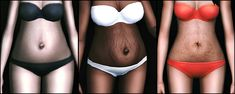 "m-s-93: "" PREGNANCY BELLY PHASES FOR THE SIMS 3 AND THE SIMS 4 INFO The sims 3 You need to know and to do a thing in the graphic rules if you want these for TS3. 1) Follow THIS tutorial, otherwise..."