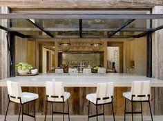 "georgianadesign: ""En plein air"" living, San Francisco. Ken Linsteadt Architects."