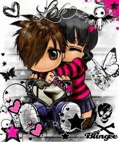 Emo Love Cartoon, Cartoons Love, Cartoon Art, Little Heart Tattoos, Cholo Art, Graffiti, Picture Icon, Bible Prayers, Marriage Life
