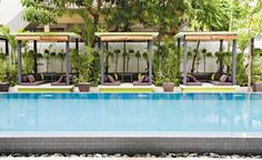 The 252 in Cambodia may look like just another pretty space, with its silk linens and infinity pool surrounded by shaded loungers and potted palms. But the 19-room hotel, which opened in the capital city last year, is as much about doing good and volunteering in the community as looking good.