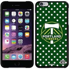 Portland Timbers Polka Dots Design on Apple iPhone 6 Plus Thinshield Snap-On Case