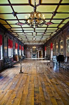 Chirk Castle, Wales interior | United Kingdom / Wales / Chirk Castle