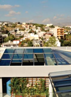 Renowned for its innovative approach and its elegant products, Salinox creates whatever is needed for a projects that involves aluminum and glass. Skylights, Glass Roof, Innovation, Crystals, Studio, Glass Ceiling, Side Return, Crystal, Study