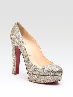 since I am not allowed to spend $795 on a pair of Louboutins.... maybe someone wants to buy them for me????  they would be perfect wedding shoes :)