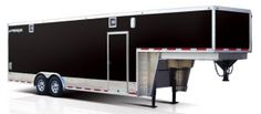 Rance Renegade Gooseneck Fifth Wheel Enclosed Car Hauler Trailer with options