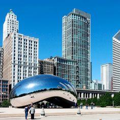 Millennium Park, Chicago, Illinois. #Jetsetter