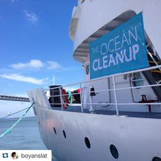 Inspirational! @boyanslat cleaning up the plastic on his  #MegaExpedition  Keep up the great work @boyanslat we like to think we are doing our bit for reducing plastic bag usage by producing @fruitysacks