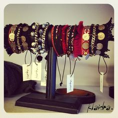 Fringes, velvet, suede & laceBohochic is all about layering✌️#klaidra #designers #jewelry #bracelets #handmade #bohemian #ethnic #gypsy #fashion #lace #fringes #coins #suede #velvet #bracelet #bohemianstyle #instafashion #bohochic #greekdesigners #klaidrajewelry