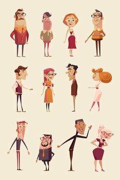 HEALTHCARE ANIMATION by James Gilleard, via Behance