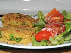 ... OF PATTIES on Pinterest | Broccoli patties, Brown rice and Burgers