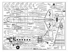 Douglas C-47 - plan thumbnail