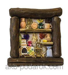 """Настенное декоративное панно """"Біля печі"""". Украинские сувениры, фото 1"""