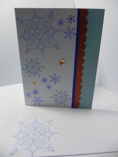 Stampin' Up Serene Snowflake