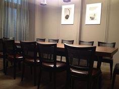 #實木牛皮餐椅與奈米漆餐桌-MEAT GQ STEAK橡木炙烤牛排館