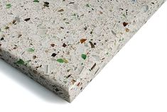 I also like this for the countertop... Recycled glass