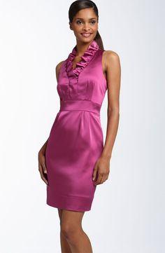 Платье отрезное по линии талии.  Моделирование.