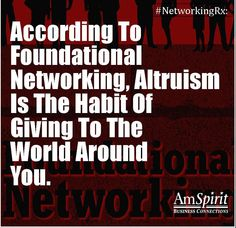 #NetworkingRx: What is that gift you can consistently give?
