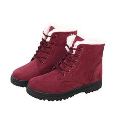 YIXINAN Warm winter snow boots female boots with flat boots student short women's boots => Insider's special review you can't miss. Read more  : Ladies boots