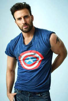 """""""This is the most outside asks you can incorporate into a movie,"""" Evans says. """"I love acting – but that's not all you're asking me to do."""" Chris Evans photographed by Peggy Sirota in Rolling Stone Interview (May 4th, 2016)"""