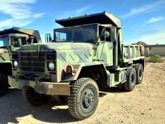 AM General Corp. M929 5-ton Dump Truck. Find more Military Vehicles on GovLiquidation!