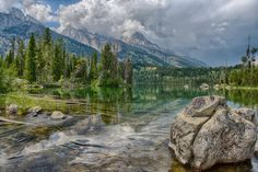 Landscape Photography  Storm Watch at Taggart Lake  Grand
