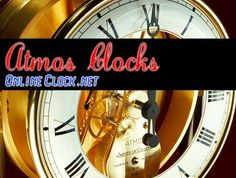 Clocks That Run On Atmosphere by @onlineclock