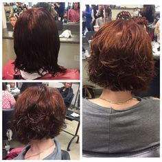Gave her a fresh new cut! #hair #hairstyles #redhair #haircolor #haircut #hairtransformation #shorthair #bob #cosmo #cosmetology #trendy #layeredhair #beauty http://tipsrazzi.com/ipost/1506023767918736624/?code=BTmeKM-F3Tw