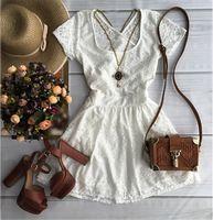2016 Vestidos moda verão branco mulheres vestido De Festa elegante vestido Vestidos De Festa vestido De verão
