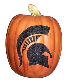 Take a look at this Michigan State Pumpkin by Cumberland Designs on #zulily today!